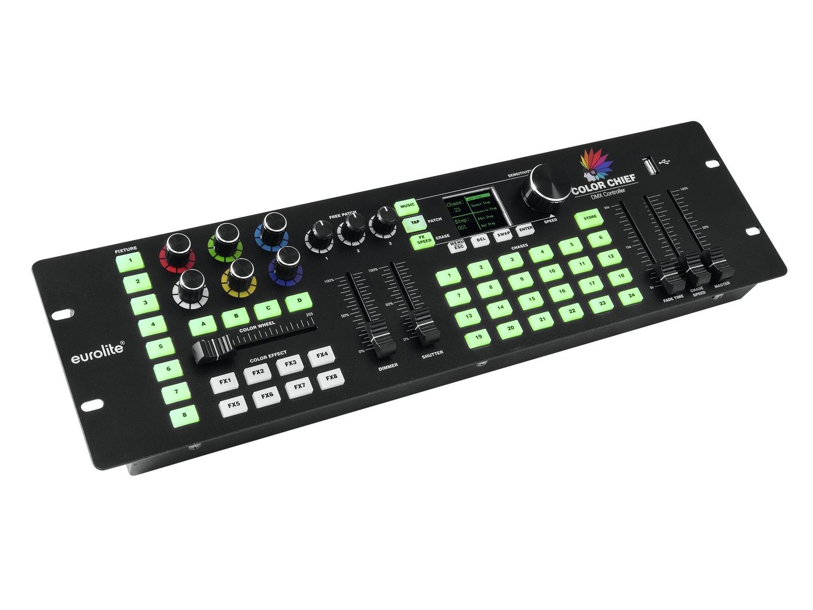 EUROLITE EUROLITE Set 4x LED PIX-12 QCL + Controller
