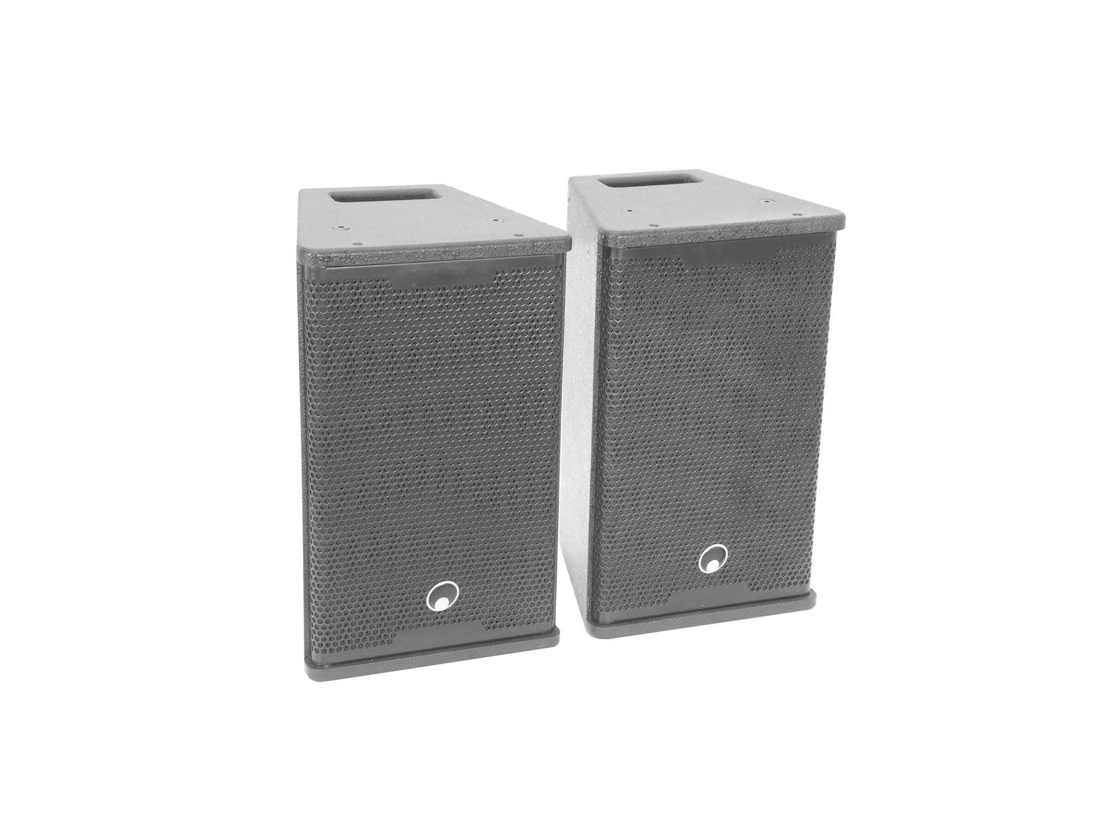 OMNITRONIC OMNITRONIC Set MAXX-1508DSP 2.1 Aktiv-System + Speaker stands
