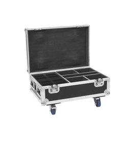 ROADINGER ROADINGER Flightcase 4x AKKU IP UP-4 Plus HCL Spot WDMX with Cha