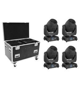 EUROLITE EUROLITE Set 4x LED TMH-X12 + EU Case