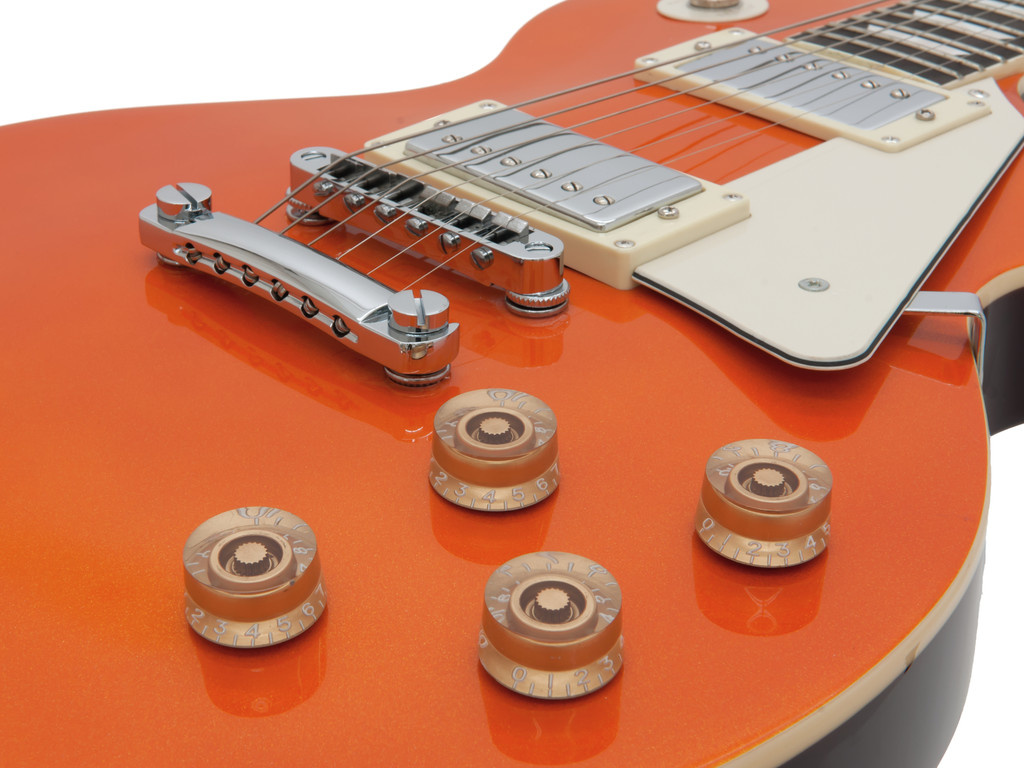 DIMAVERY DIMAVERY LP-800 E-Guitar, orange