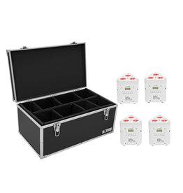 EUROLITE EUROLITE Set 4x AKKU TL-3 TCL white + Case TDV-1
