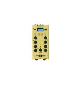 OMNITRONIC OMNITRONIC GNOME-202P Mini Mixer gold