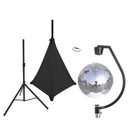 EUROLITE EUROLITE Set Mirror ball 50cm with stand and tripod cover black