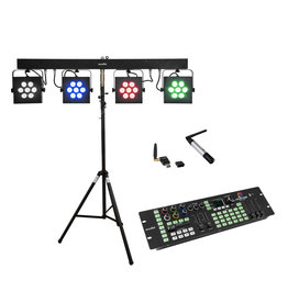 EUROLITE EUROLITE Set LED KLS-3002 + Controller + STV-40S-WOT Steel stand