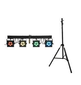 EUROLITE EUROLITE Set LED KLS-902 + STV-40S-WOT Steel stand