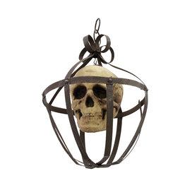 EUROPALMS EUROPALMS Skull lantern 39cm