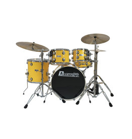 DIMAVERY DIMAVERY DS-620 Drum Set, yellow