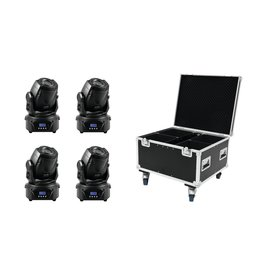 EUROLITE EUROLITE Set 4x LED TMH-60 MK2 + Case