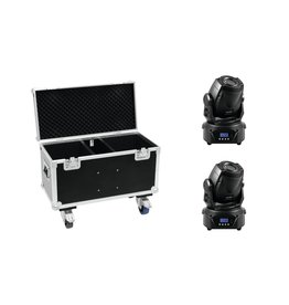 EUROLITE EUROLITE Set 2x LED TMH-60 MK2 + Case with wheels