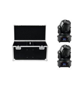 EUROLITE EUROLITE Set 2x LED TMH-60 MK2 + Case
