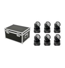 EUROLITE EUROLITE Set 6x LED TMH-7 + Case