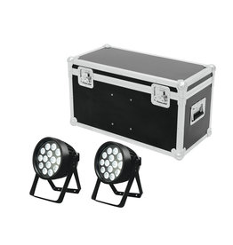 EUROLITE EUROLITE Set 2x LED IP PAR 14x8W QCL + Case