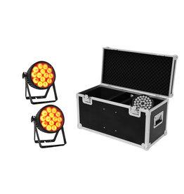 EUROLITE EUROLITE Set 2x LED IP PAR 14x10W HCL + Case