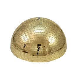 EUROLITE EUROLITE Half Mirror Ball 50cm gold motorized
