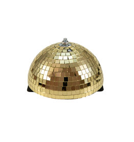 EUROLITE EUROLITE Half Mirror Ball 20cm gold motorized