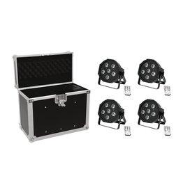 EUROLITE EUROLITE Set 4x LED SLS-603 + Case EC-SL4M size M