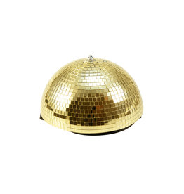 EUROLITE EUROLITE Half Mirror Ball 30cm gold motorized