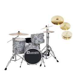 DIMAVERY DIMAVERY Set DS-312 oyster + DB Cymbals