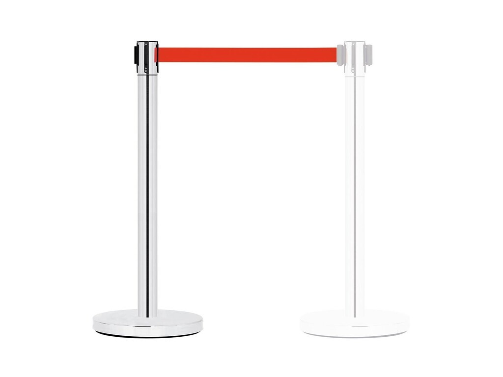 GUIL GUIL PST-11 Barrier System with Retractable Belt (red)