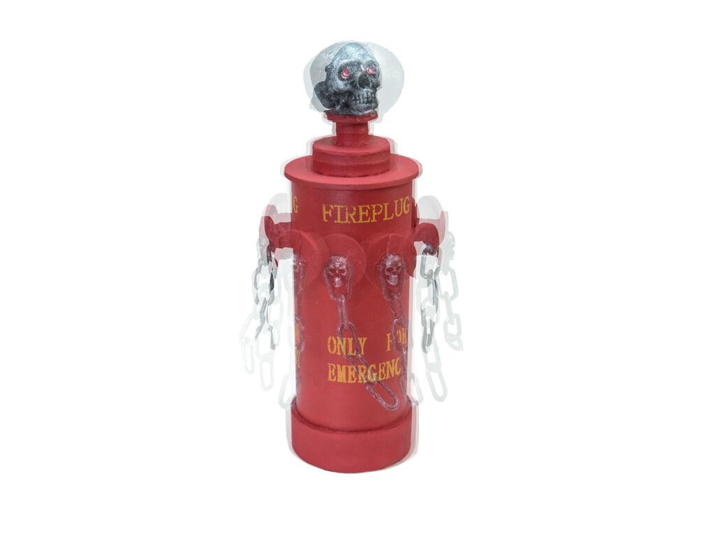 EUROPALMS EUROPALMS Halloween Fire Hydrant, 28x13x13cm
