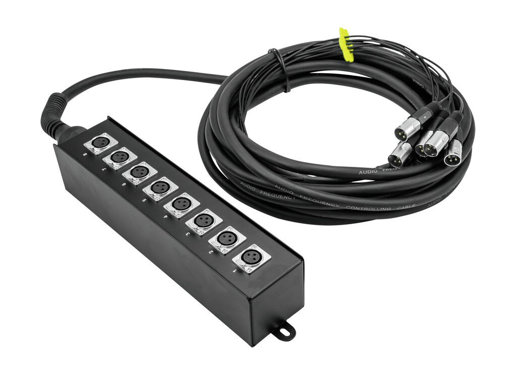 OMNITRONIC OMNITRONIC Multicore Stagebox MUS-610 6IN 10m