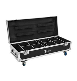 ROADINGER ROADINGER Flightcase 8x AKKU UP-4 QuickDMX with charging function