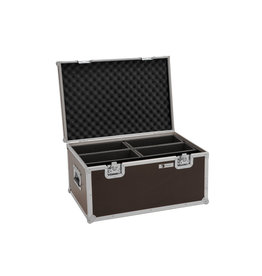 ROADINGER ROADINGER Flightcase 4x LED 4/7C-12 Silent Slim Spot