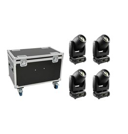 FUTURELIGHT FUTURELIGHT Set 4x PLB-130 + Case