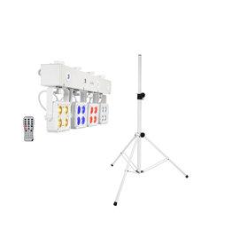 EUROLITE EUROLITE Set LED KLS-180 white + BS-2 EU Loudspeakerstand white