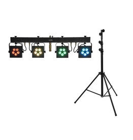 EUROLITE EUROLITE Set LED KLS-902 + STV-60-WOT EU Steel stand black