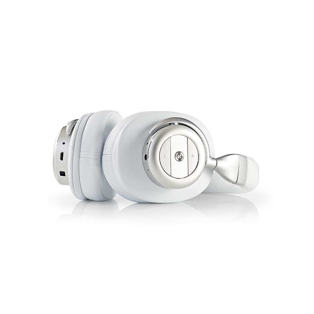 Pls Draadloze hoofdtelefoon | Bluetooth® | Over-ear | Actieve ruisonderdrukking (ANC) | Wit