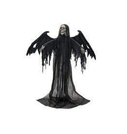EUROPALMS EUROPALMS Halloween Black Angel, 175x100x66cm