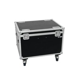ROADINGER ROADINGER Flightcase 4x LED THA-100F/THA-120PC with wheels