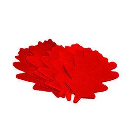 TCM TCM FX Slowfall Confetti Oak Leaves 120x120mm, red, 1kg
