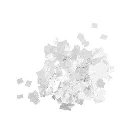 TCM TCM FX Metallic Confetti Raindrops 6x6mm, silver, 1kg