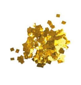 TCM TCM FX Metallic Confetti Raindrops 6x6mm, gold, 1kg