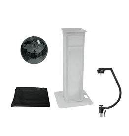 EUROLITE EUROLITE Set Mirror ball 30cm black with Stage Stand variable + Cover black