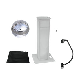 EUROLITE EUROLITE Set Mirror ball 50cm with Stage Stand variable + Cover black