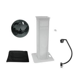 EUROLITE EUROLITE Set Mirror ball 50cm black with Stage Stand variable + Cover black