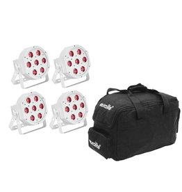 EUROLITE EUROLITE Set 5x LED SLS-7 HCL Spot white + Soft Bag