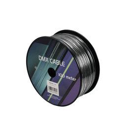 EUROLITE EUROLITE DMX cable 2x0.22 100m bk