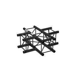 ALUTRUSS ALUTRUSS DECOLOCK DQ4-SPAC41 4-Way Cross Piece bk