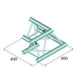 ALUTRUSS ALUTRUSS DECOLOCK DQ3-SPAC21 2-Way Corner 90°´bk