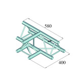 ALUTRUSS ALUTRUSS DECOLOCK DQ3-SPAT36 3-Way T-Piece 90° bk