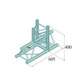 ALUTRUSS ALUTRUSS DECOLOCK DQ3-SPAT37 3-Way T-Piece 90° bk