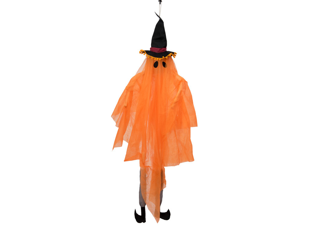EUROPALMS EUROPALMS Halloween Figure Ghost with Witch Hat, 150cm
