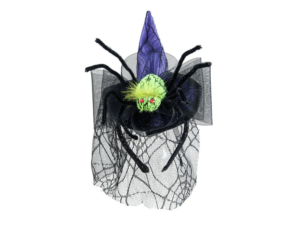 EUROPALMS EUROPALMS Halloween Costume Witch Hat with Spider