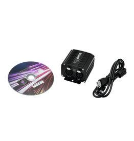 EUROLITE EUROLITE USB Interface 2x512 DMX/Artnet incl. 64x DMX512 Control Software