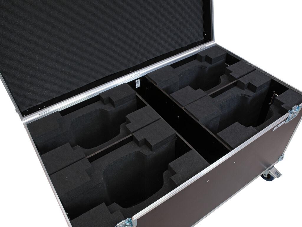 ROADINGER ROADINGER Flightcase 4x LED TMH-X10